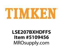 TIMKEN LSE207BXHDFFS Split CRB Housed Unit Assembly