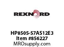 REXNORD HP8505-57AS12E3 HP8505-57 3AS-T12P HP8505 57 INCH WIDE MATTOP CHAIN WI