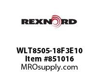 REXNORD WLT8505-18F3E10 WLT8505-18 F3 T10P N1.5 WLT8505 18 INCH WIDE MATTOP CHAIN W