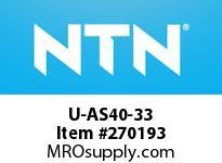 NTN U-AS40-33 MEDIUM SIZE TAPERED ROLLER BRG