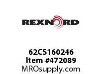 REXNORD 139536 62CS160246 62CS 1/2-NOX3/4-3/16