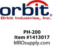 Orbit PH-200 PIPE HANGER WITHOUT BOLT #5 2^