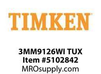 TIMKEN 3MM9126WI TUX Ball P4S Super Precision