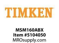 TIMKEN MSM160ABX Split CRB Housed Unit Component