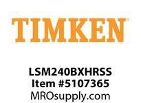 TIMKEN LSM240BXHRSS Split CRB Housed Unit Assembly