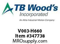 TBWOODS V003-H660 HSV 13 CODE 66
