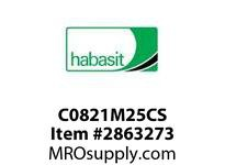 Habasit C0821M25CS 821 25T Carbon Steel - MPB