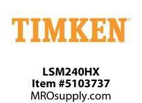 TIMKEN LSM240HX Split CRB Housed Unit Component