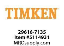 TIMKEN 29616-7135 Large Bore Seal