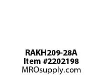 PTI RAKH209-28A PILLOW BLOCK BEARING-1-3/4 RAKH 200 SILVER SERIES - NORMAL DUT