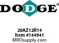 DODGE 20AZ12R14 TIGEAR-2 E-Z KLEEN REDUCER