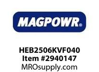 MagPowr HEB2506KVF040 HEB-250 PNEUMATIC BRAKE