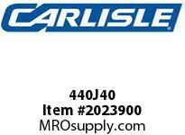 Carlisle 440J40 J Bulk Sleeves