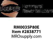 HPS RM0035P80E IREC 35A 0.800MH 60HZ EN Reactors