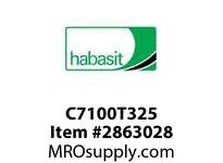 "Habasit C7100T325 7100 Pin Connecting Tool for 3.25"" Width Chain"