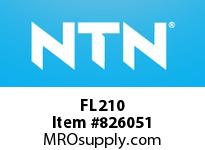 NTN FL210 Bearing Units - Cast Housing