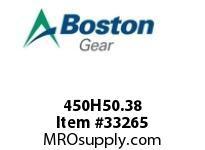 BOSTON 450H50.38 OLDHAM HUB BLIND 50 14MM-- OLDHAM HUB