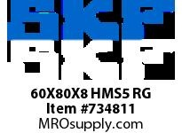 SFKSEAL 60X80X8 HMS5 RG
