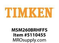TIMKEN MSM260BRHFFS Split CRB Housed Unit Assembly
