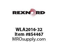 REXNORD WLA2016-32 WLA2016-32 WLA2016 32 INCH WIDE MATTOP CHAIN W