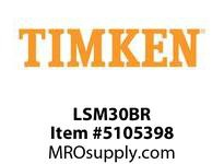 TIMKEN LSM30BR Split CRB Housed Unit Component