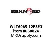 REXNORD WLT6085-12F3E3 LT6085-12 F3 T3P LT6085 12 INCH WIDE MATTOP CHAIN WI