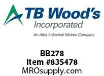 TBWOODS BB278 BB278 HEX V-BELT