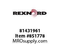 REXNORD 81431961 HP8505-16.6 PT LH T2P