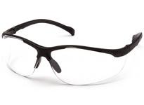 Pyramex SB8910S Black Frame/Clear Lens