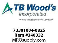 TBWOODS 73301004-0825 73301004-0825 13S M-SF CPLG