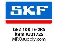 SKF-Bearing GEZ 108 TE-2RS