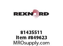 REXNORD 81435511 D1873TK9 D1873 TAB 9 INCH WIDE TABLETOP CHAI