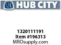 HUBCITY 1320111191 YW220X1-1/8 BEARING INSERT