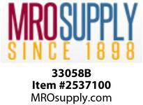 MRO 33058B 3/8 X 1/4 HB X FIP BLK POLY ADPT
