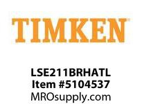 TIMKEN LSE211BRHATL Split CRB Housed Unit Assembly
