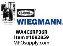WIEGMANN WA4C6RP36R ACNEMA3RSM6000BTU115V60HZ