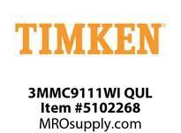 TIMKEN 3MMC9111WI QUL Ball P4S Super Precision