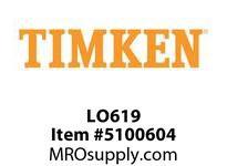 TIMKEN LO619 SRB Plummer Block Component