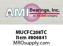 AMI MUCFC208TC 40MM STAINLESS SET SCREW TEFLON PIL SINGLE ROW BALL BEARING