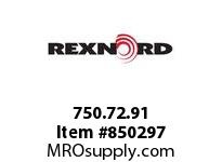 REXNORD 750.72.91 SWH1000 XL SWH1000XL 10 INCH WIDE TABLETOP CHA