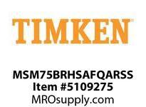 TIMKEN MSM75BRHSAFQARSS Split CRB Housed Unit Assembly