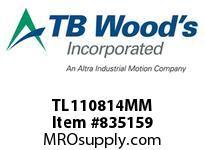 TBWOODS TL110814MM TL1108X14MM TL BUSHING