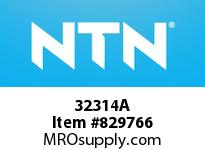 NTN 32314A Medium Tapered Roller Bearings