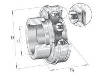 INA RAE30NPPNR Radial insert ball bearing