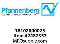 Pfannenberg 18102000025 PF-RH 60000-LG-FS (front screws) Rainhood for PF/PFA 6x000 RAL 7035 (Light Gy)