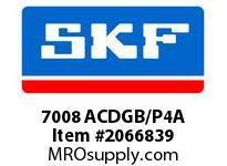 SKF-Bearing 7008 ACDGB/P4A