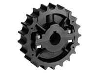 614-42-25 NS881-21T Thermoplastic Split Sprocket With Keyway TEETH: 21 BORE: 25mm