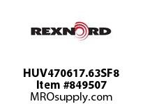 REXNORD HUV470617.63SF8 HUV4706-17.625 F3 T8P HUV4706 17.6 INCH WIDE MATTOP CHAIN