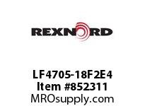 REXNORD LF4705-18F2E4 LF4705-18 F2 T4P N1 LF4705 18 INCH WIDE MATTOP CHAIN WI