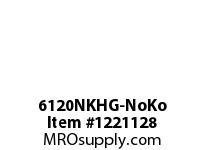 WireGuard 6120NKHG-NoKo 6x6x120 NEMA TYPE-1 GUTTER